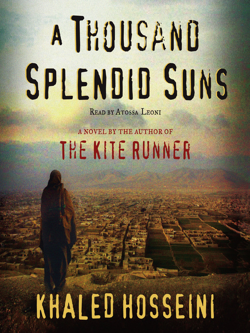 Image result for a thousand splendid suns book cover