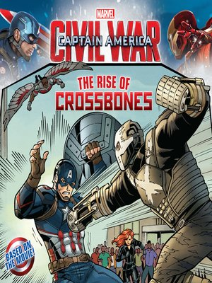 Captain America - Civil War 8x8 by Marvel. AVAILABLE eBook.