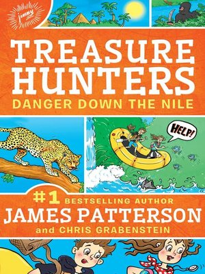 Danger Down the Nile by James Patterson. AVAILABLE eBook.