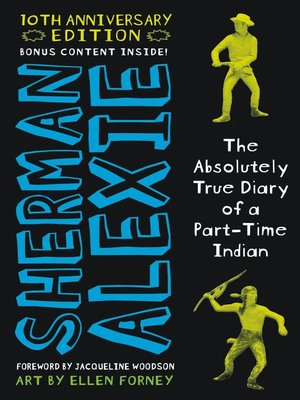 The Absolutely True Diary of a Part-Time Indian by Sherman Alexie.                                              AVAILABLE eBook.