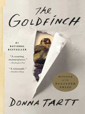 The Goldfinch by Donna Tartt. AVAILABLE eBook.