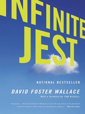 Infinite Jest by David Foster Wallace.                                              AVAILABLE eBook.