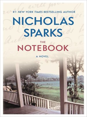 The Notebook by Nicholas Sparks. AVAILABLE eBook.