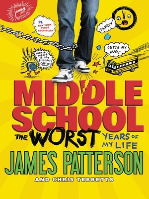 Middle School, the Worst Years of My Life by James Patterson. WAIT LIST eBook.