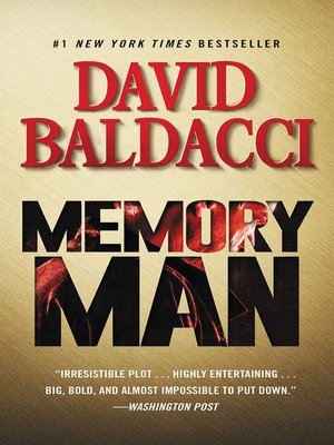 Memory Man by David Baldacci. AVAILABLE eBook.