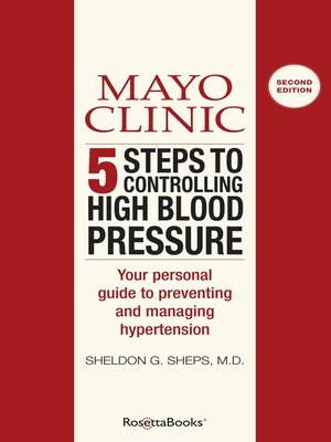 High Blood Pressure by Mayo Clinic. AVAILABLE eBook.