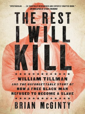 The Rest I Will Kill by Brian McGinty.                                              AVAILABLE eBook.
