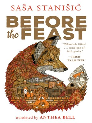 Before the Feast by Sasa Stanisic.                                              WAIT LIST eBook.