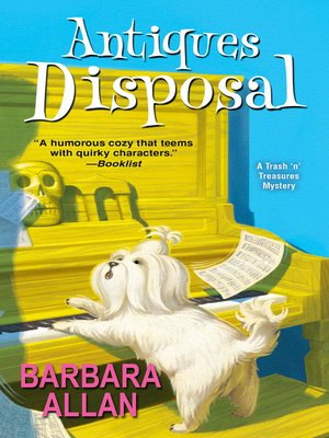 Antiques Disposal by Barbara Allan. AVAILABLE eBook.