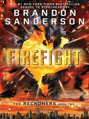 Firefight by Brandon Sanderson. AVAILABLE eBook.