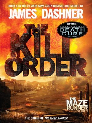 The Kill Order by James Dashner. AVAILABLE eBook.