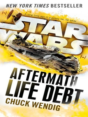 Life Debt by Chuck Wendig. AVAILABLE eBook.