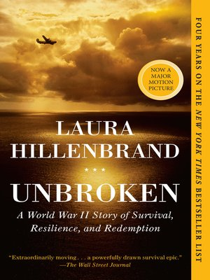 Unbroken by Laura Hillenbrand.                                              AVAILABLE eBook.
