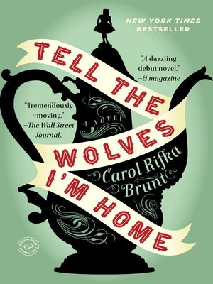 Tell the Wolves I'm Home by Carol Rifka Brunt. WAIT LIST eBook.