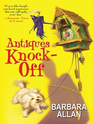 Antiques Knock-Off by Barbara Allan. AVAILABLE eBook.