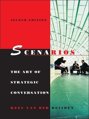 Scenarios by Kees van der Heijden.                                              AVAILABLE eBook.