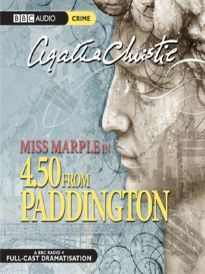 4:50 from Paddington by Agatha Christie. AVAILABLE Audiobook.