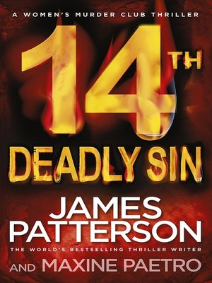 14th Deadly Sin by James Patterson. AVAILABLE eBook.