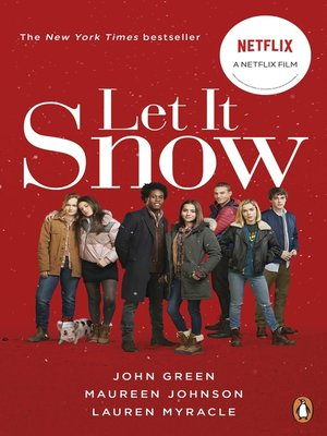 Let It Snow by John Green. AVAILABLE eBook.