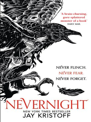 Nevernight by Jay Kristoff.                                              AVAILABLE eBook.