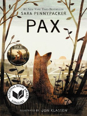 Pax by Sara Pennypacker. AVAILABLE eBook.