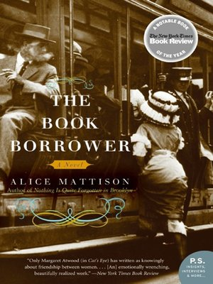 The Book Borrower by Alice Mattison. WAIT LIST eBook.