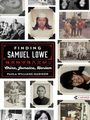 Finding Samuel Lowe by Paula Williams Madison. AVAILABLE eBook.