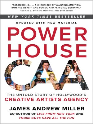 Powerhouse by James Andrew Miller.                                              AVAILABLE eBook.