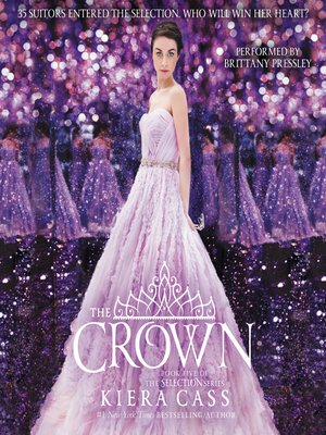 The Crown by Kiera Cass.                                              AVAILABLE Audiobook.