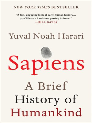 Sapiens by Yuval Noah Harari. WAIT LIST eBook.
