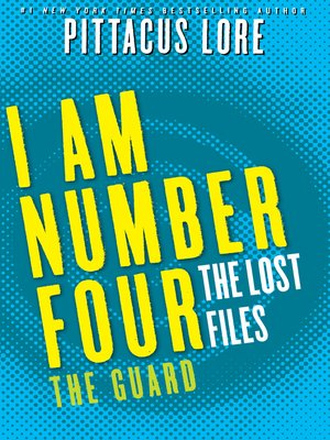 The Guard by Pittacus Lore.                                              AVAILABLE eBook.