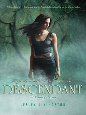 Descendant by Lesley Livingston. AVAILABLE eBook.