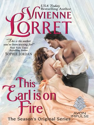 This Earl Is on Fire by Vivienne Lorret. COMING SOON eBook.