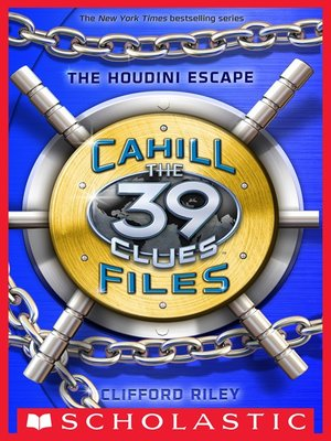 The Houdini Escape by Clifford Riley. AVAILABLE eBook.