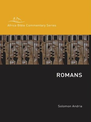 Romans by Solomon Andria. AVAILABLE eBook.