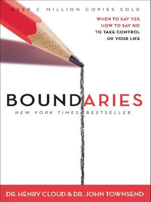 Boundaries by Henry Cloud. AVAILABLE eBook.