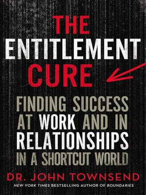 The Entitlement Cure by John Townsend.                                              AVAILABLE eBook.