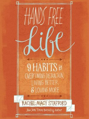 Hands Free Life by Zondervan. AVAILABLE Audiobook.