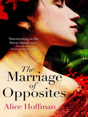 The Marriage of Opposites by Alice Hoffman. AVAILABLE eBook.