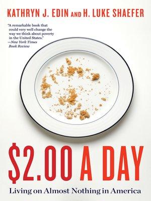 $2.00 a Day by Kathryn J. Edin. AVAILABLE eBook.