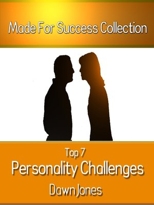 Top 7 Personality Challenges by Dawn Jones. AVAILABLE Audiobook.