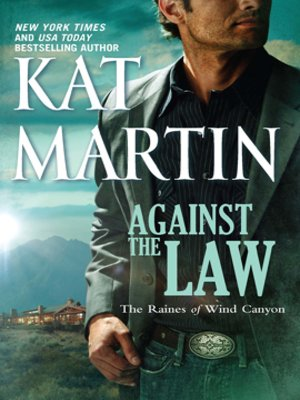 Against the Law by Kat Martin.                                              WAIT LIST eBook.