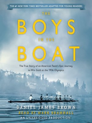 The Boys in the Boat (Young Readers Adaptation) by Daniel James Brown. AVAILABLE Audiobook.