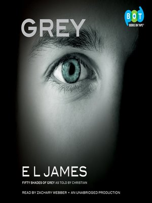 Grey by E L James.                                              AVAILABLE Audiobook.
