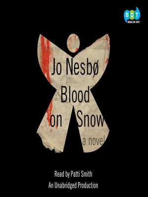 Blood on Snow by Jo Nesbo.                                              AVAILABLE Audiobook.