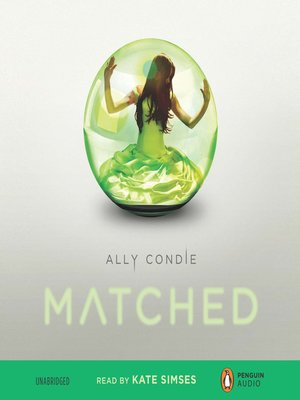 Matched by Ally Condie.                                              AVAILABLE Audiobook.