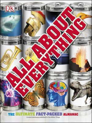 All About Everything by DK Publishing. AVAILABLE eBook.
