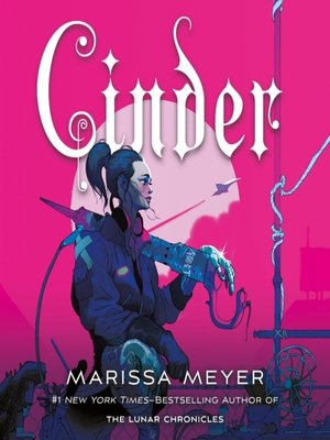 Cinder by Marissa Meyer.                                              AVAILABLE Audiobook.