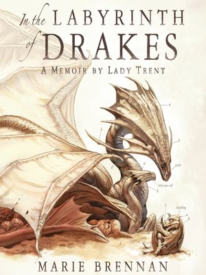 In the Labyrinth of Drakes by Marie Brennan.                                              AVAILABLE Audiobook.