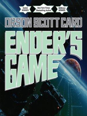 Ender's Game by Orson Scott Card.                                              AVAILABLE Audiobook.